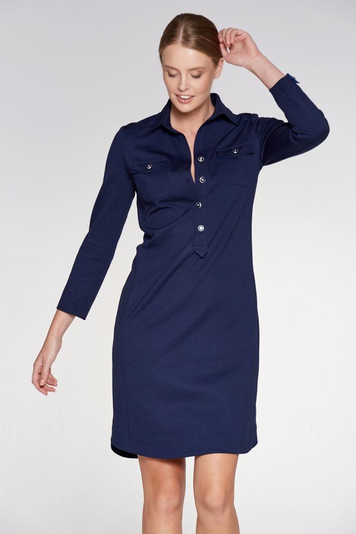 17a7a4bae7 SUKIENKA CHARLIE CLASSIC NAVY - Eleganckie sukienki na każdą okazję ...